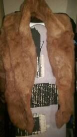 Real fur coat (rabbit)