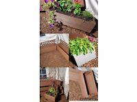 *REDUCED* handmade planters exdisplay need space 1 off price L@@K @ PICS