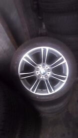 Bmw new model rims with very good tyre