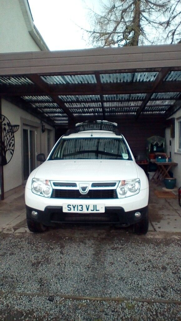 Dacia Duster, in excellent condition. Just over 38,000 on the clock.