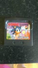 Sonic The Hedgehog SEGA Game Gear