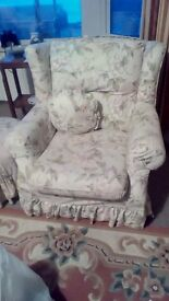 Large comfortable three piece suite.