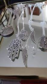 Ten different pendants all new at fraction of price