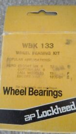 Wheel bearings. Lockheed - suit Escort, etc..?