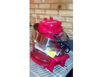 Halogen oven, portable, used once