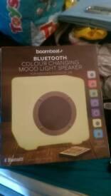 Bluetooth colour changing mood speaker speaker brand knew