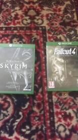 Skyrim & Fallout Xbox one