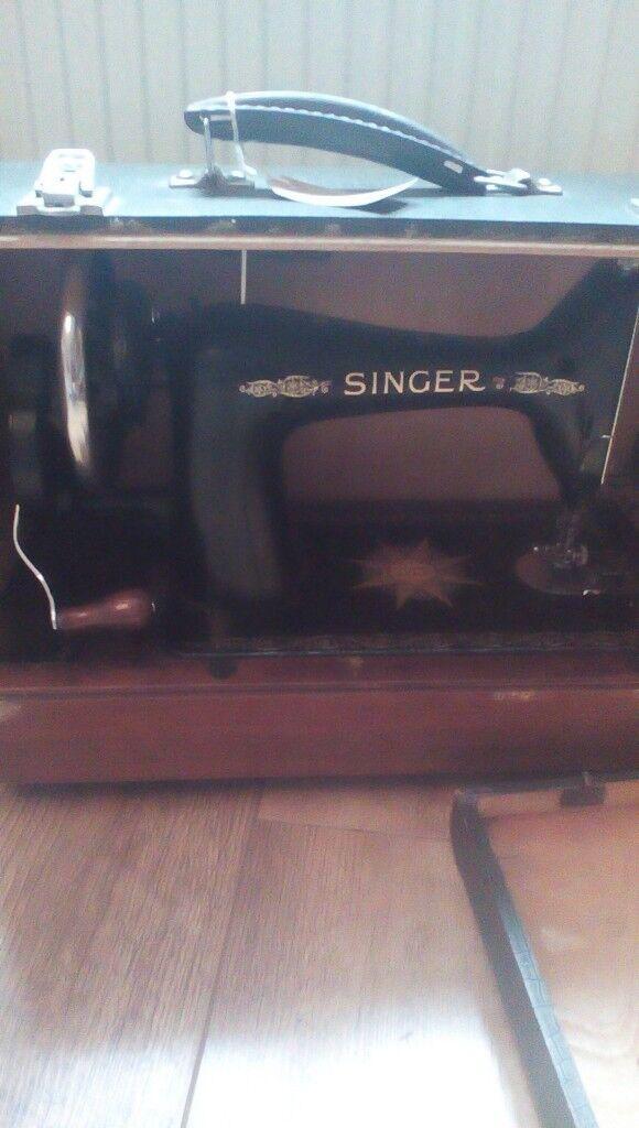 RARE SINGER SEWING MACHINE