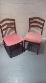 Lovely pair of dining chairs for Xmas!