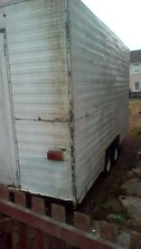 Snack van shell for sale,