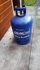 Gas bottle 13 kg of gas left in