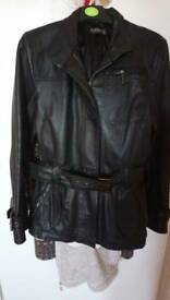 Ladies size 10 fiorelli leather jacket