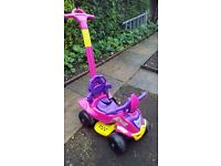 Injusa 4-in-1 Quad Ride On, good condition, FREE