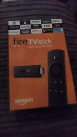 Amzon fire stick with voice remote