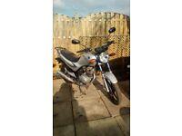 SYM XS125 MOTORBIKE