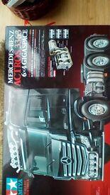 Tamiya rc truck kit - mercedes actros gigaspace 1 14 scale