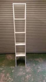 Wardrobe divider with shelves