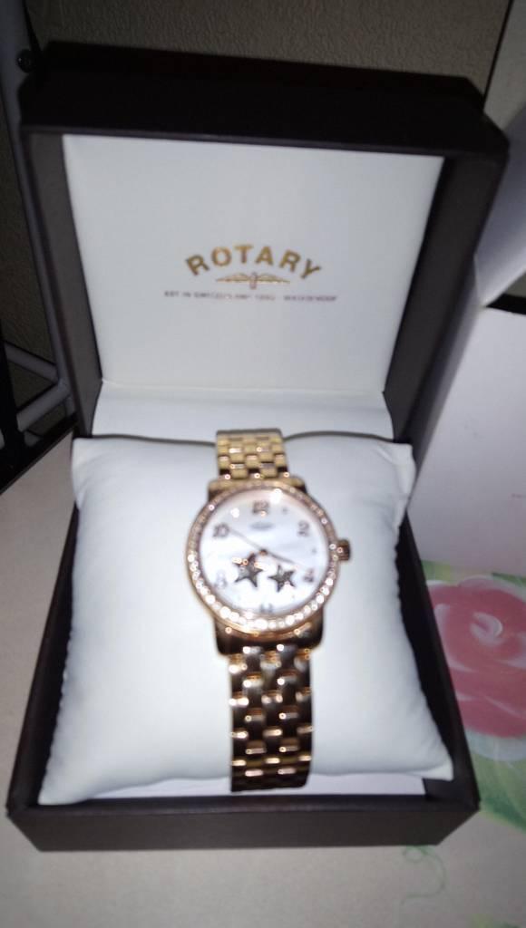 Beautiful rotary rose gold, star watch(automatic)