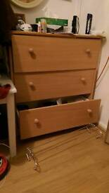 Clean modern chest of drawers