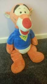 Huge Tigger plush soft toy - Disney Winning The Pooh