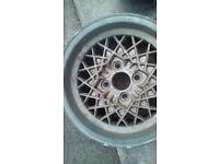 Alloy wheels x2