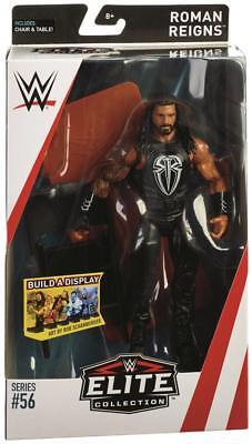 Roman Reigns WWE Mattel Elite Series 56 Brand New Action Figure - Mint Packaging
