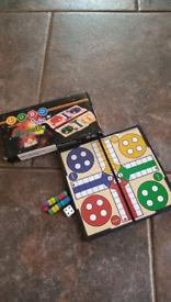 Ludo. Chess. Scrabble. Bingo all magnetic