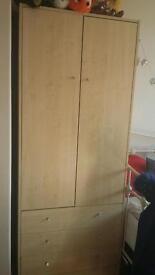 Beech wardrobe