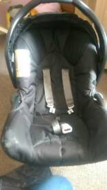 Car seat never been used