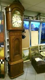 Exceptionally nice antique Grandfather clock