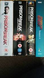 Prison Break DVDs Boxsets