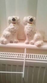Pair of beswick dogs 7and half inch