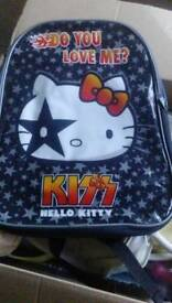 Brand new hello kitty back pack