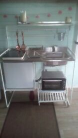 Mini Kitchen, ideal for student/ bedsit/ camping
