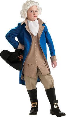 George Washington Costume Colonial Boy Minuteman Founding Fathers 884718