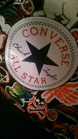 NEW Limited Edition Ladies Converse Size 5