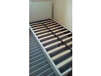 White Single Bed Frame