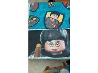 Lego Harry Potter Duvet Set - Single Bed