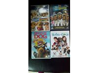 4 x kids DVD - rated U and PG