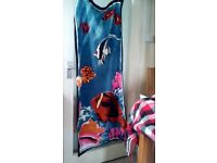 BEACH / SWIMMING TOWELS X TWO EXCELLENT CONDITION