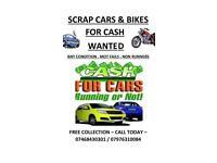 CASH FOR CARS/BIKES SOUTH LONDON