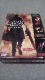 The Texas Chainsaw Massacre The Beginning 3 Film DVD Box Set Free Delivery