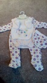Lovely brand new with tags girls 3-6 months 5 piece set
