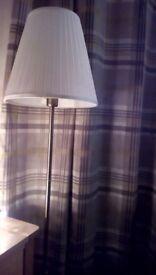 Ikea floor lamp, New, solid base