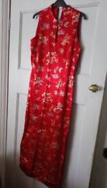 Chinese dress worn once size 12/14 principles