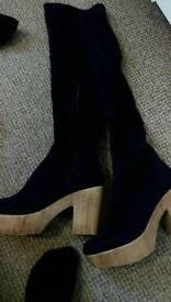 Ladies shoes /boots size 5 & 6