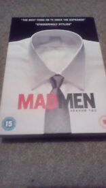 Mad Men Season 1 & 2 DVD Box Set Free Delivery