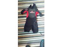 Unisex child's wet suit