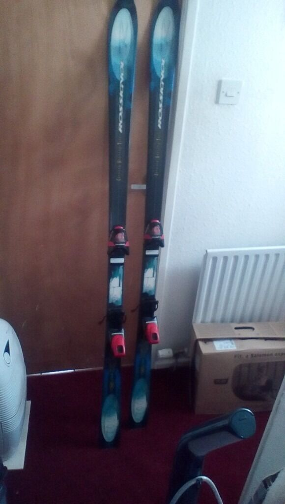 Rossignol skis 170cm with free poles