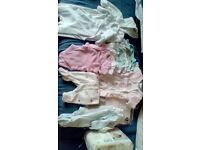 Girls tiny baby clothes bundle.